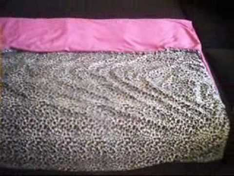 Sewing A Super Cute Baby Crib Duvet Cover With Fabric!!!!...