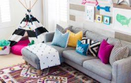 A Colorful Boho Playroom with Room to Grow...