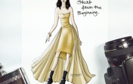 A couture twist on Jessica Jones: 100 big dresses, number 14....