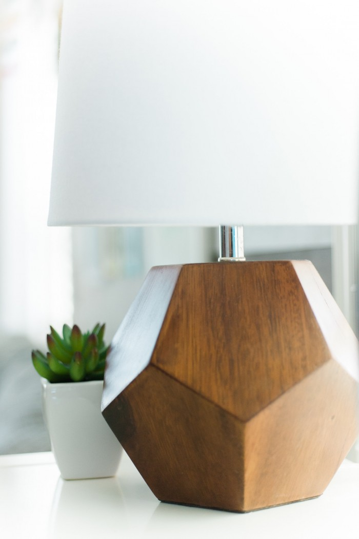Geometric Table Lamp from The Land of Nod