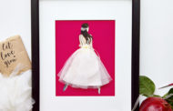 A bridal keepsake from a bride to herself....