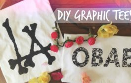 DIY Graphic Tees Without Transfer Paper...