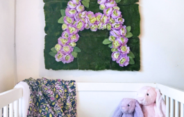 5 Easy Steps to Create a DIY Floral Letter...