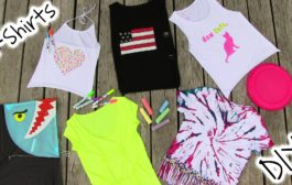DIY Clothes! 5 DIY T Shirt Projects - Cool!...