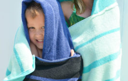 A DIY Hooded Towel that Your Kiddo Won't Immediately Outgrow...