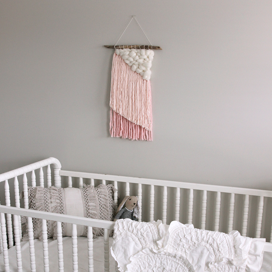 Ombre Weaving Wall Hanging - The Project Nursery Shop