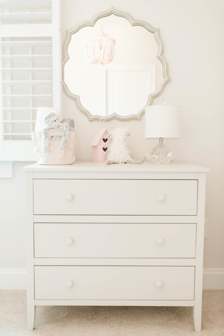 Pink and Gray XO Nursery - Project Nursery