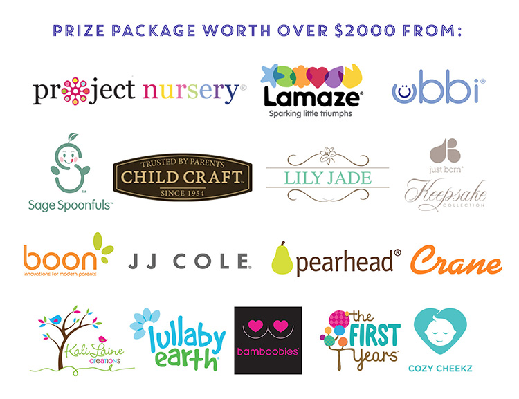 2017 Project Nursery Baby Shower Participating Sponsors
