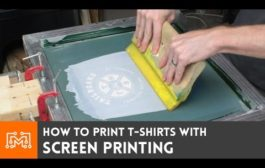 Screen Print your own t-shirts // How-To...