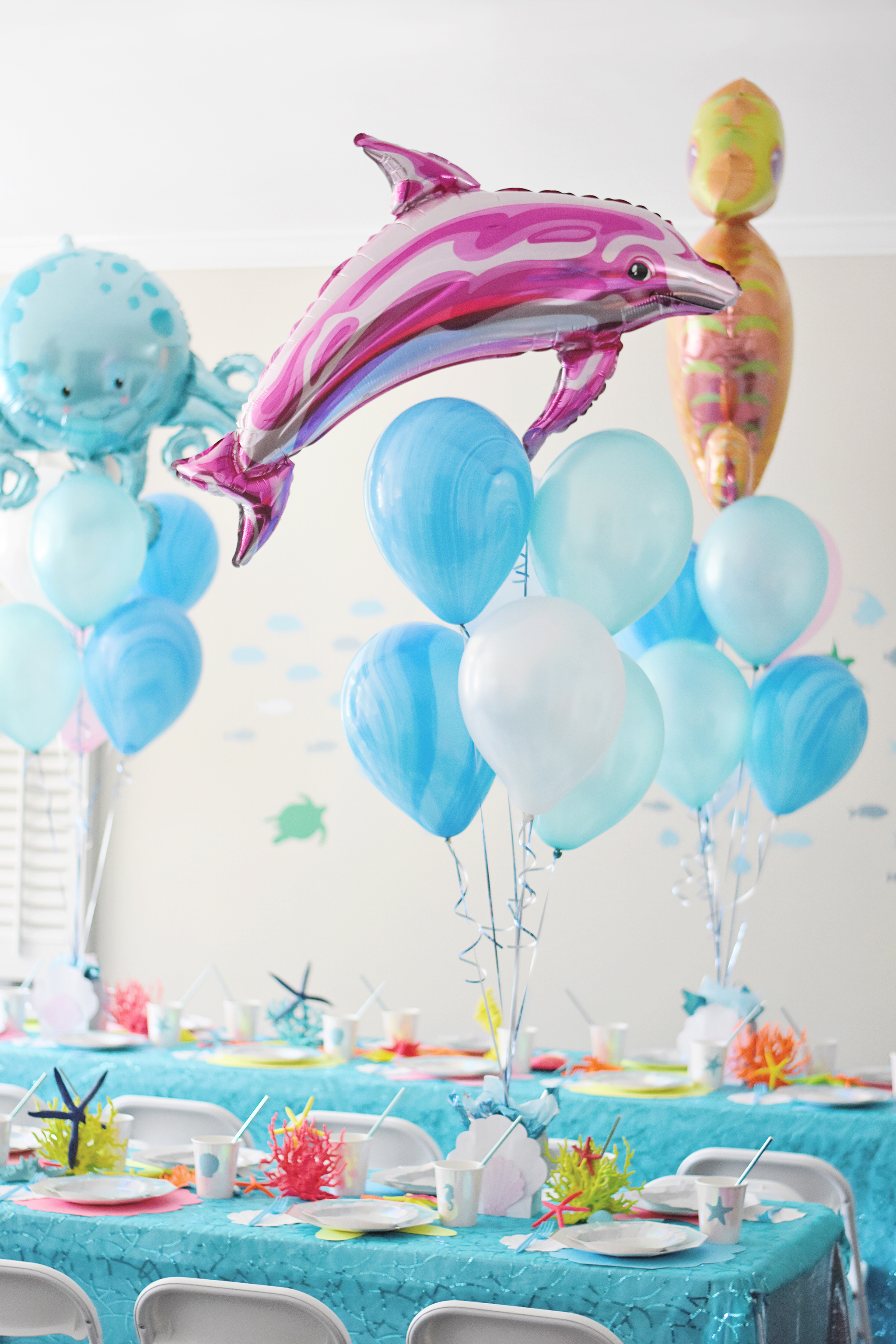 Under the Sea Birthday Party with Sea Creature Balloons