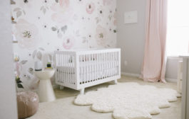 Wallpaper and Decals: A Nursery Trend We Love...