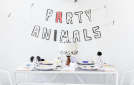 The Coolest Modern Party Animals Birthday Party on the Block...