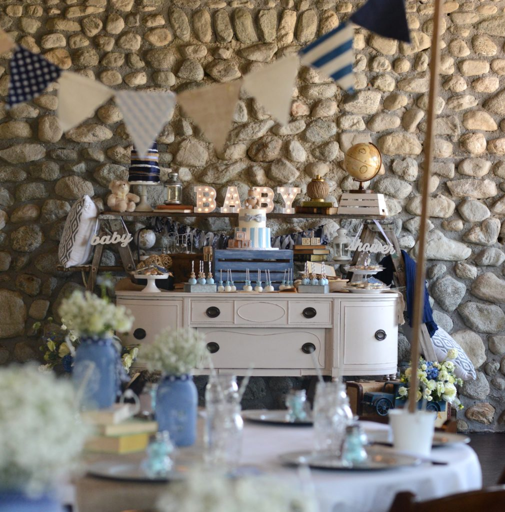 Vintage Baby Boy Shower - Project Nursery