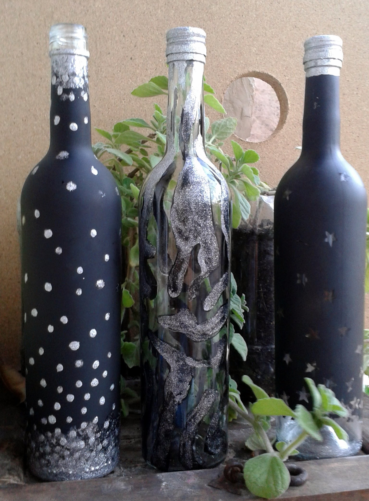 Ideas Para Decorar Botellas De Vidrio Animal Print Baby Print Shoppe - Decorar-botellas