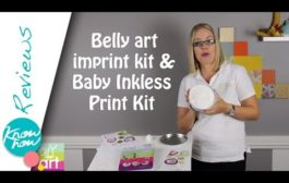 Belly Art Baby Imprint Kit & Baby Inkless Print Kit Review, Simpl...