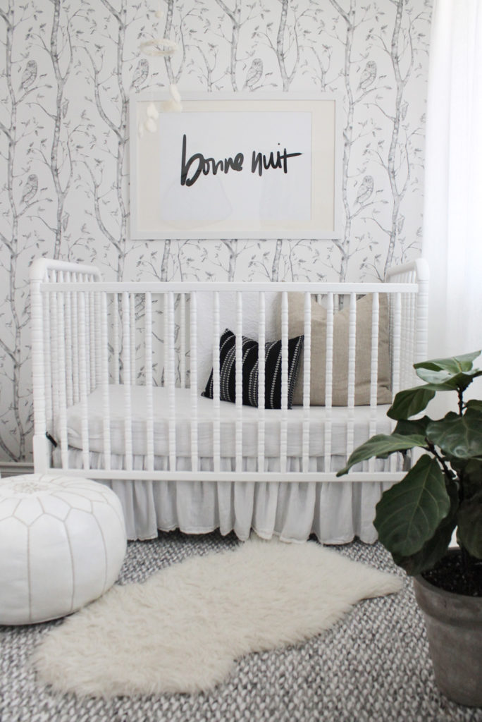 Modern Gray and White Nursery - Project Nursery