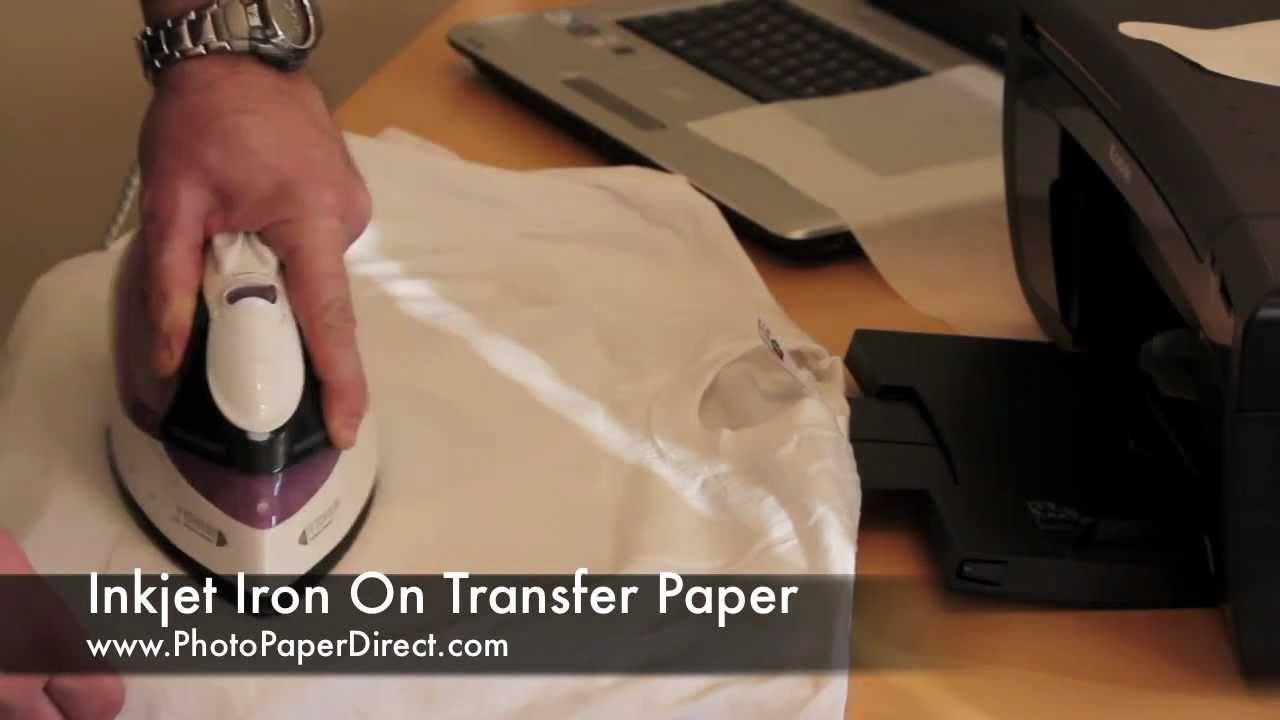 Iron On Transfer Paper Tutorial By Photo Paper Direct...