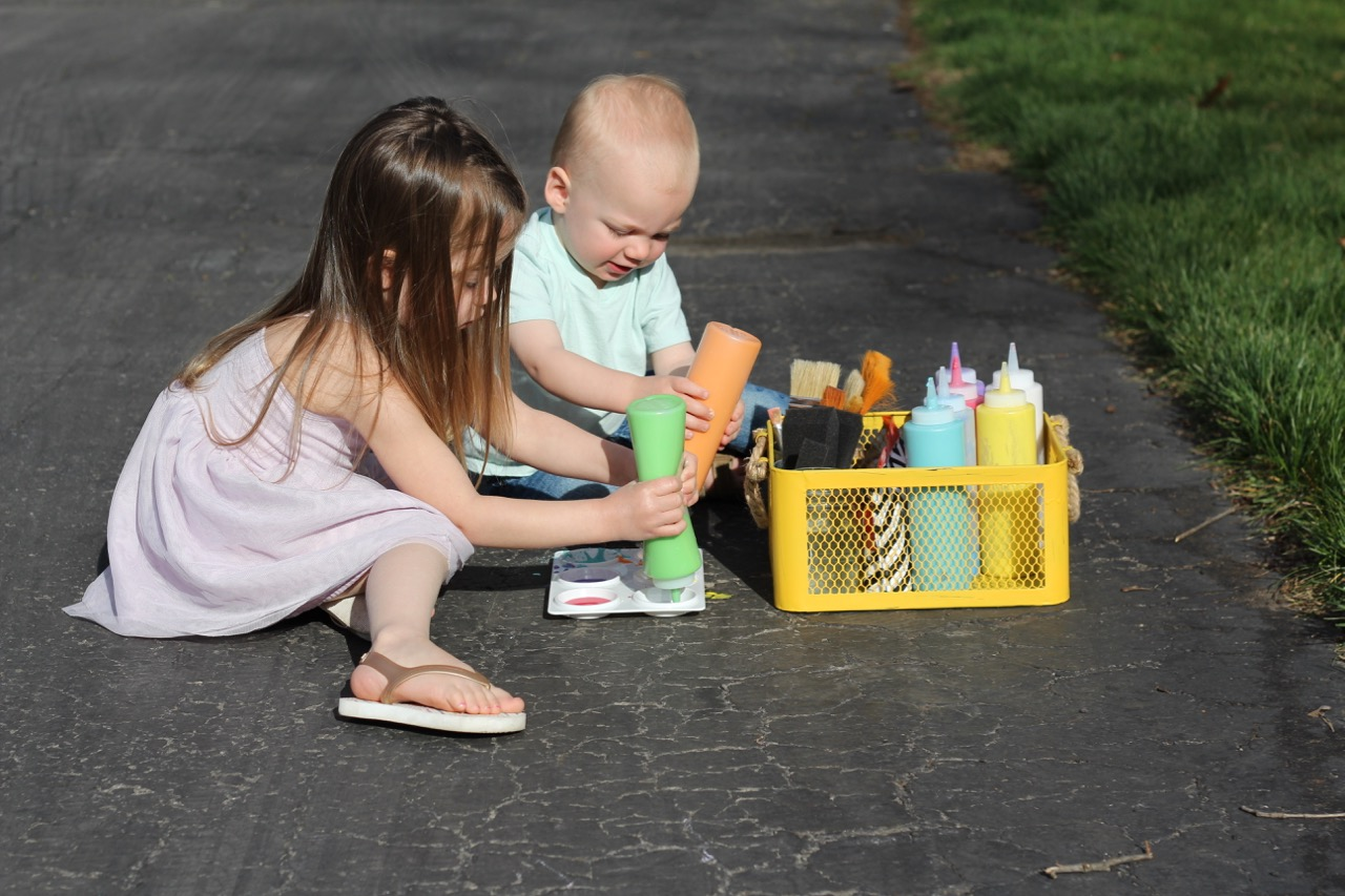 DIY Sidewalk Chalk Paint Tutorial - Project Nursery