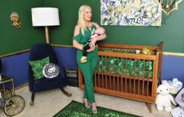 Celebrity Design Reveal: Tori Spelling's Malachite Nursery...