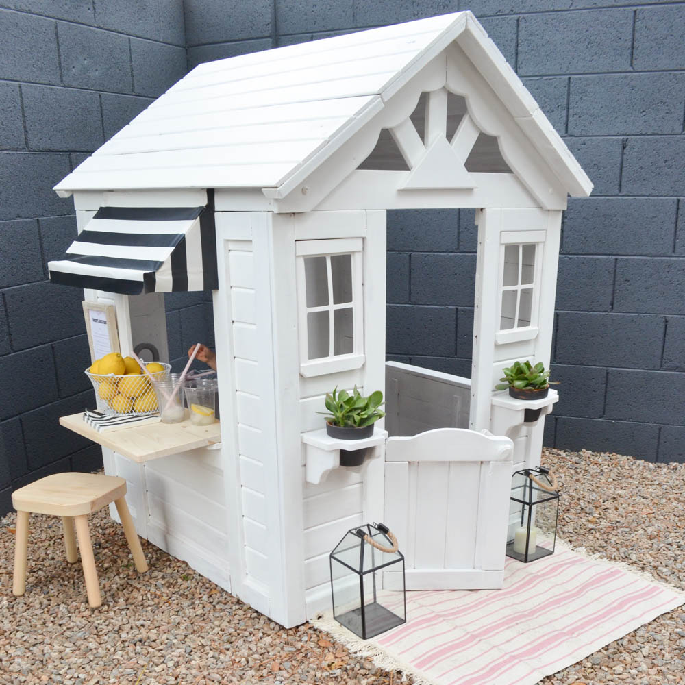 Palm Springs-Inspired Playhouse Tutorial - Project Nursery