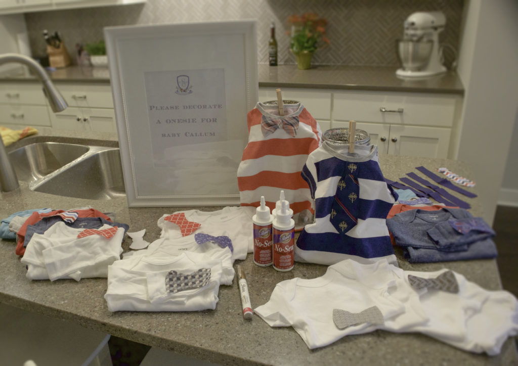 Decorate a Onesie Baby Shower Activity - Project Nursery