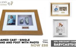 Baby Prints and Castings - some of our best selling frames...