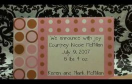 Birth Announcement - My Baby Prints - mbpA2...