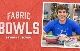 Make Your Own Fabric Bowls with Rob!...