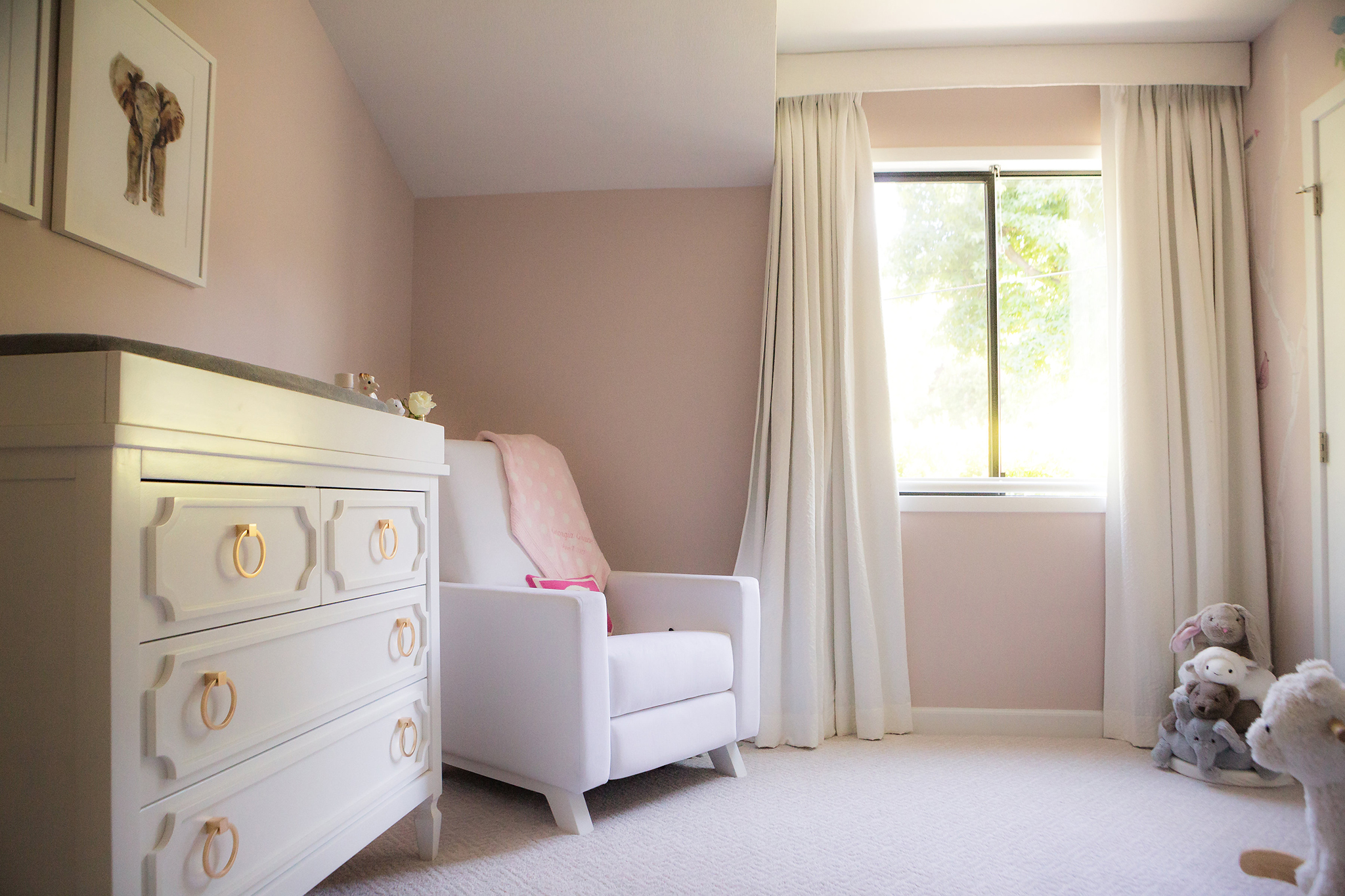 Jenni Pulos Pink and White Nursery