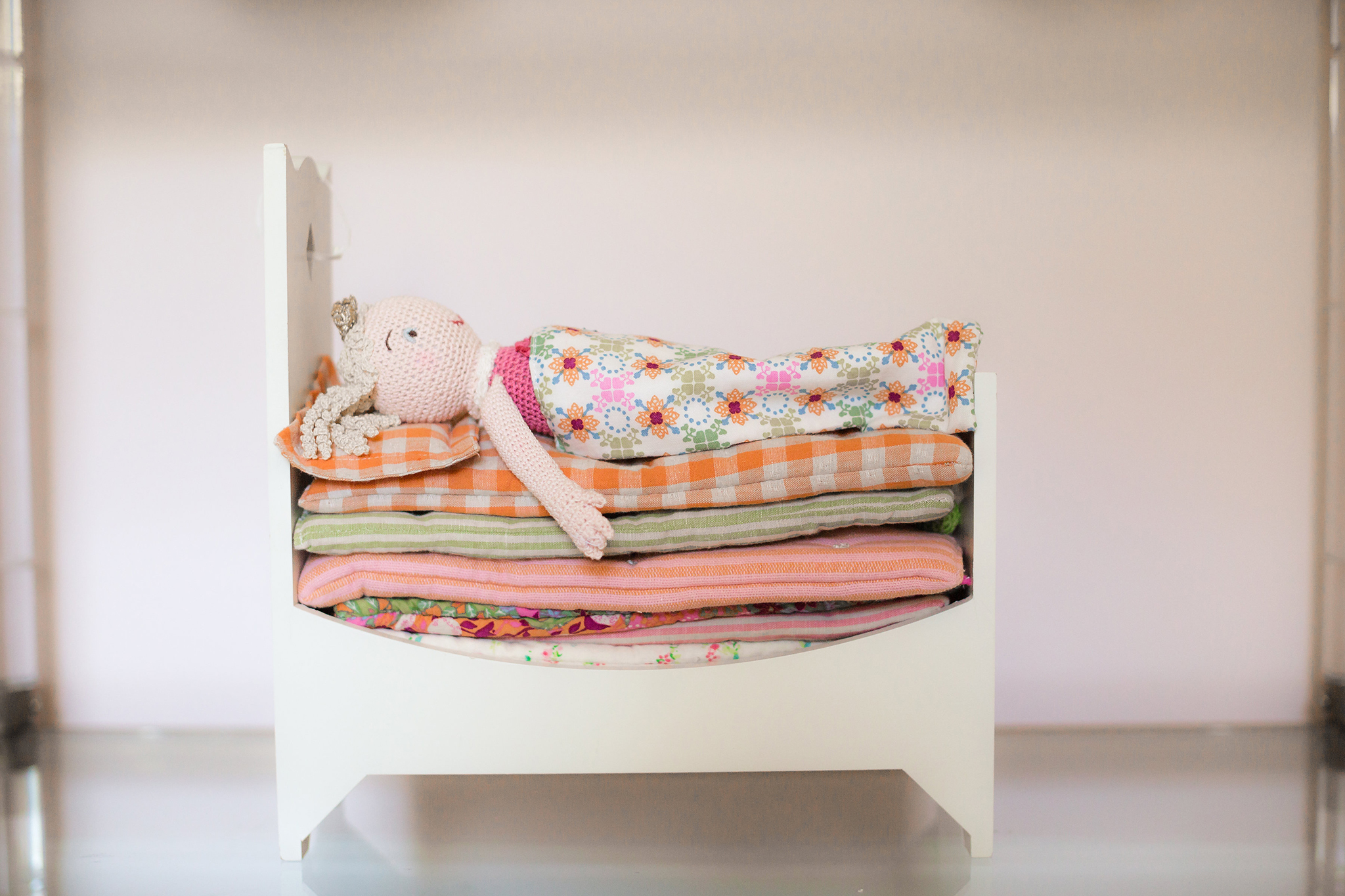 Jenni Pulos Nursery with Princess and the Pea Doll