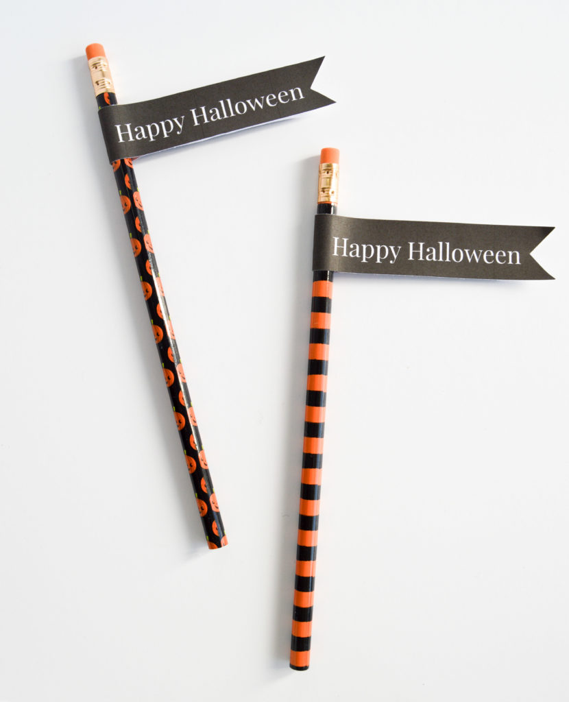 Free Printable Halloween Tag for Candy-Free Halloween Treat