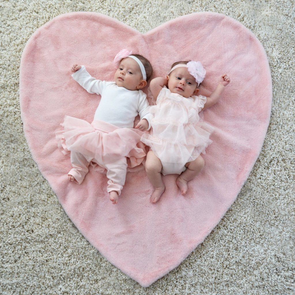 Plush Heart Blanket - The Project Nursery Shop