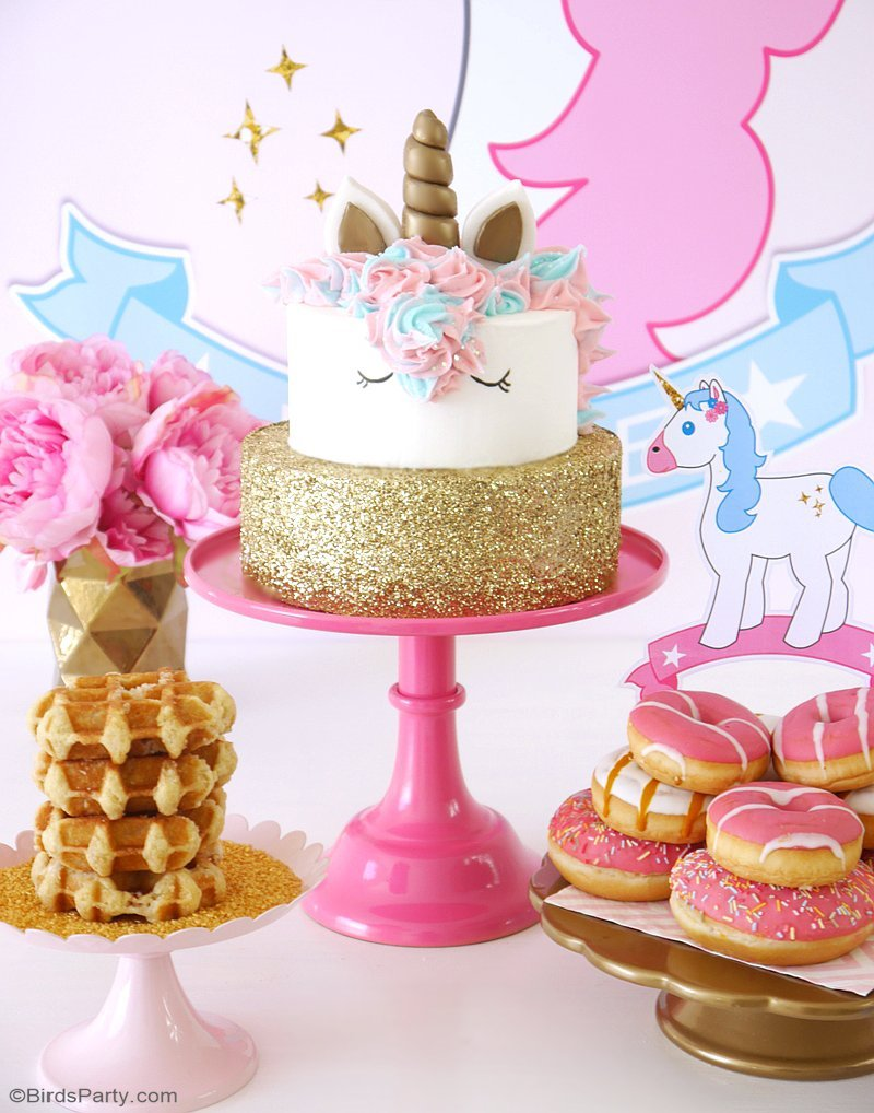 Unicorn Birthday Slumber Party - Project Nursery