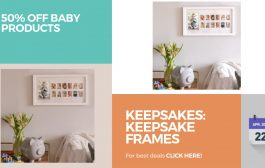 Keepsakes: Keepsake Frames 50% Off Baby Products...