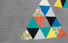 How to Cut 60 degree Equilateral Triangles from Fabric...