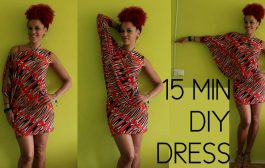 How To DIY a First Date Dress in 15 min   + Shop African Print...