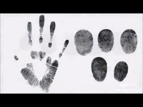 BabyRice Tutorial - How to make Adult Handprints and Fingerprints...