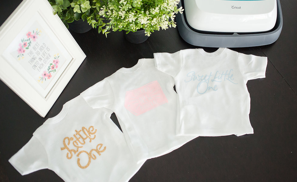 Cricut Easy Press Baby Tees
