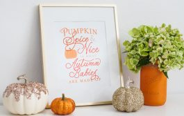 Pumpkin Spice and Everything Nice Baby Shower...