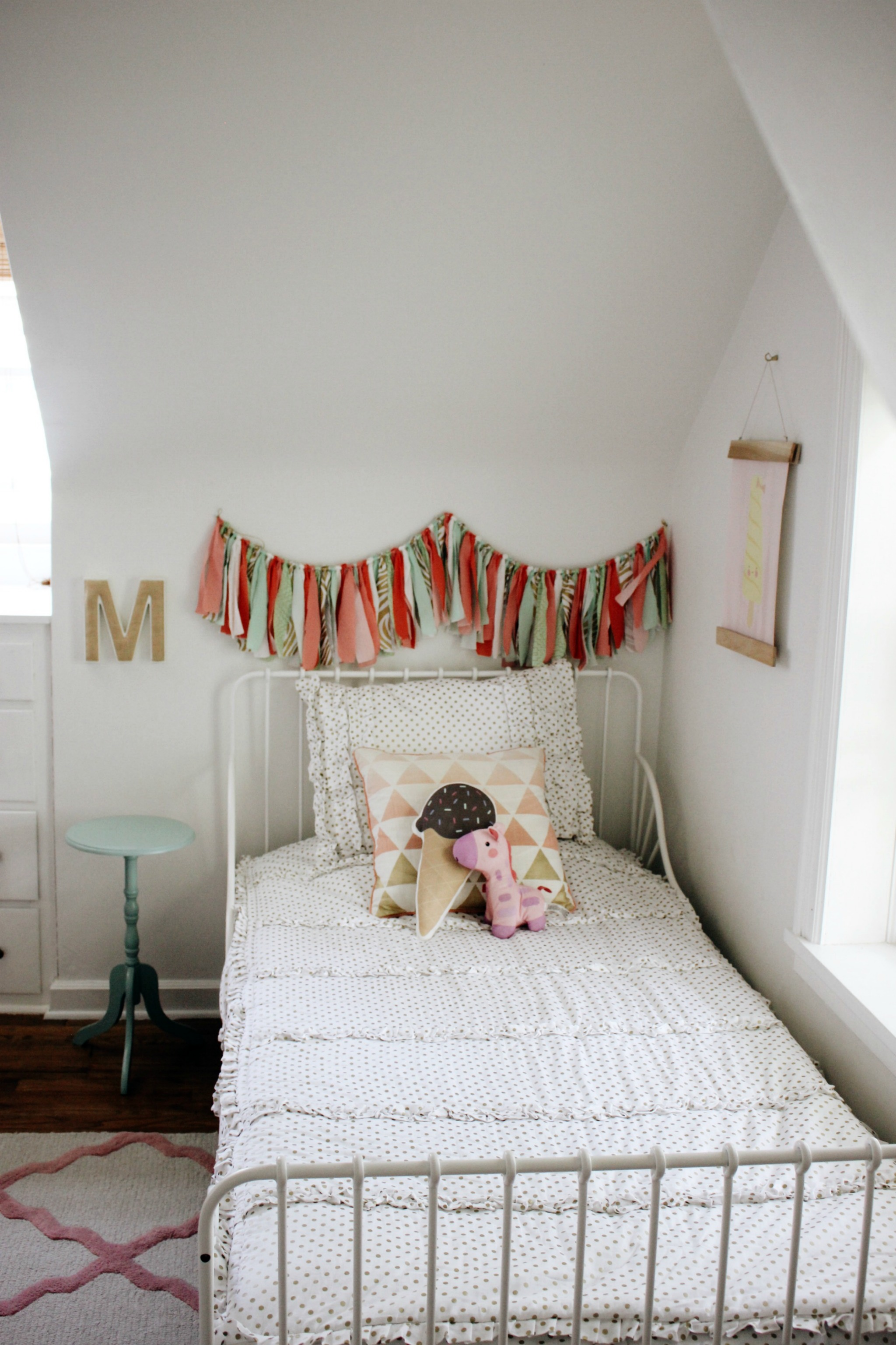 Whimsical Shared Girls Room - Project Nursery