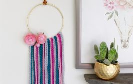 The Easiest DIY Boho Wall Hanging You'll Ever Find...
