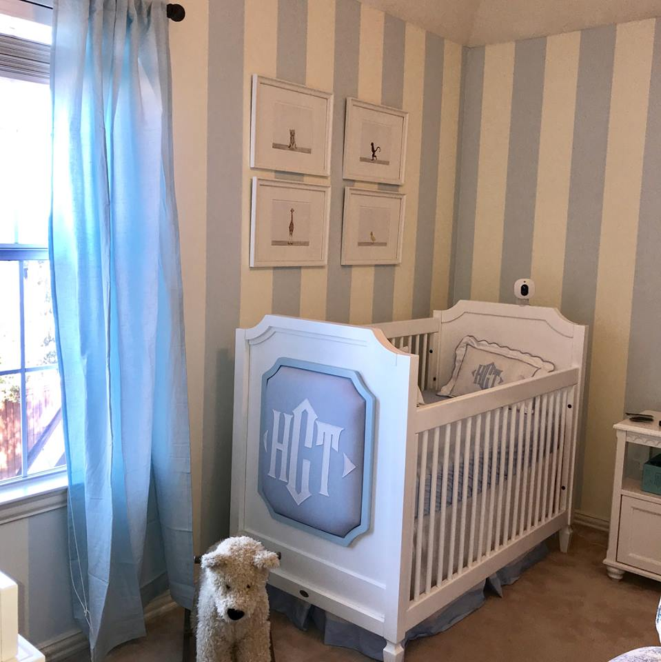 Newport Cottages traditional baby boy nursery