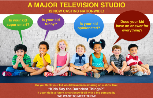 TV Show Casting Kids Nationwide!...