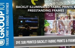 Dye Sublimation Backlit Fabric Prints & Frames - Printed & Manufa...