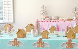 'Tis the Season for a Gingerbread House Party!...