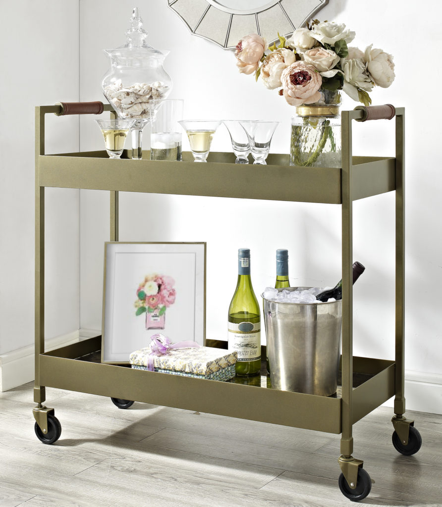 Dorel Living Bar Cart