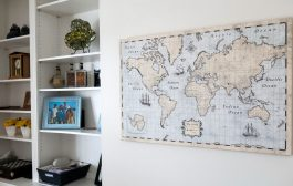 Nurture Your Family's Wanderlust with this Pinnable Map...