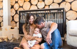 In the Nursery with Vanessa and Nick Lachey...