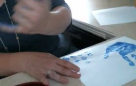 How to make a good hand prints & finger prints...