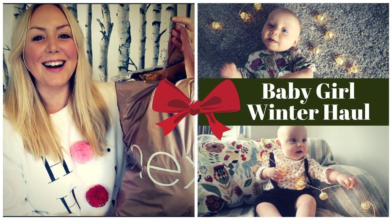Baby Girl Winter Haul | Vintage Prints from the High Street | SJ ...